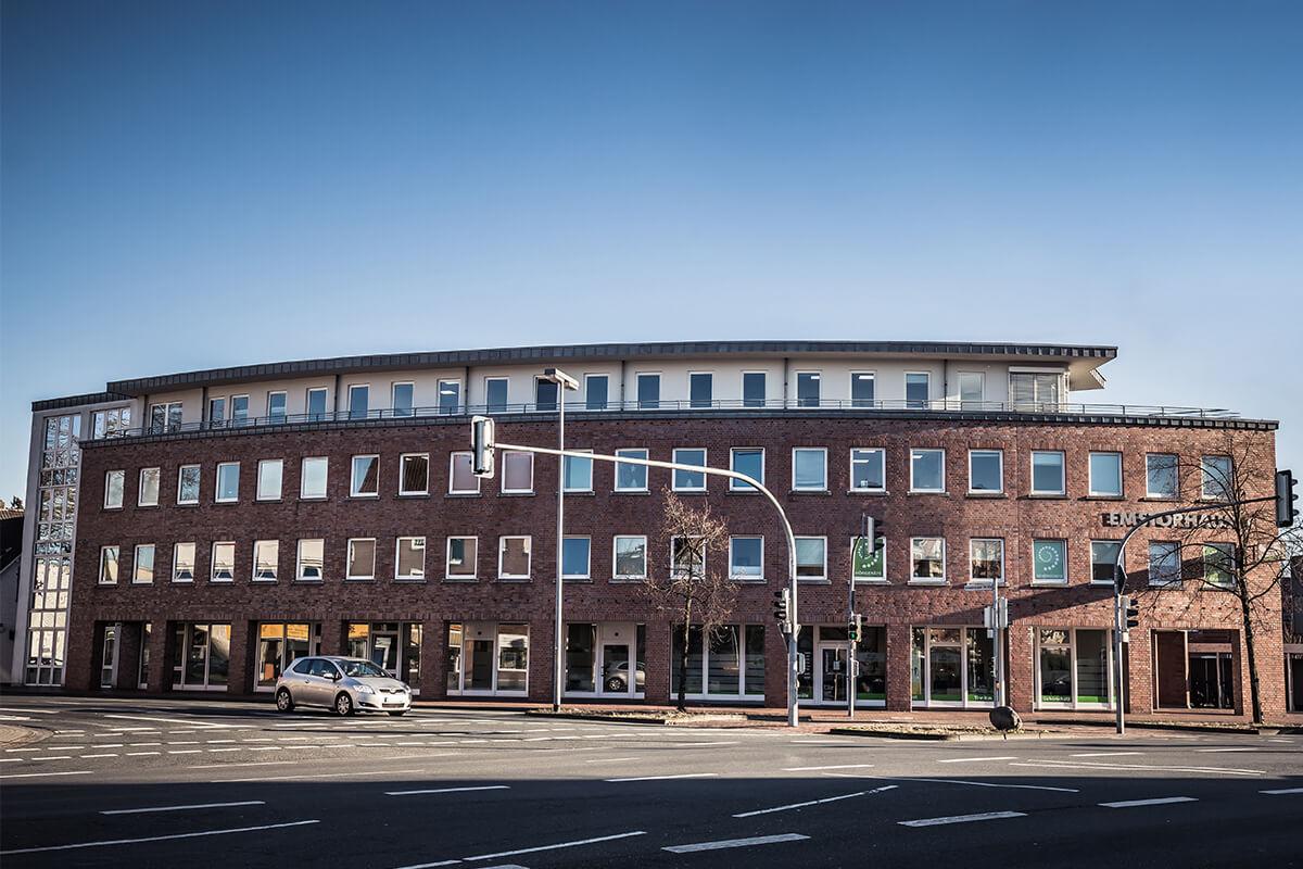 Das ATRIOS Firmengebäude in Rheine